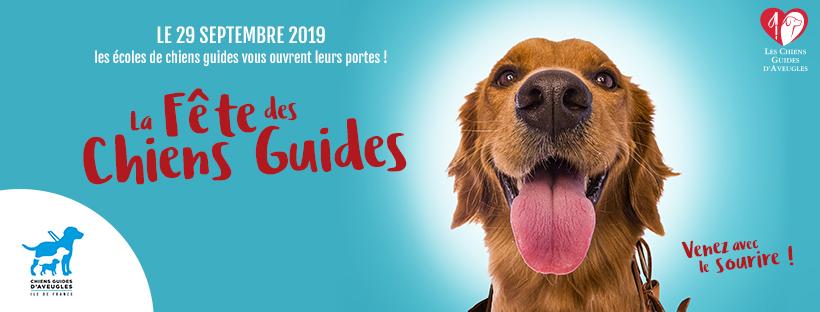 LA fête des chiens guides, dimanche 29 septembre de 10h à 18h