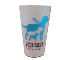 Gobelet réutilisable en plastique avec le logo de l'association